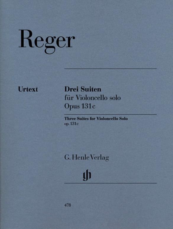 Trois Suites op. 131c pour Violoncelle seul - laflutedepan.com