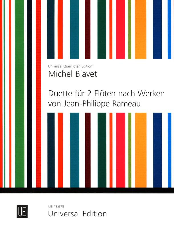 Duette nach Werken von Rameau - 2 Flöten - laflutedepan.com