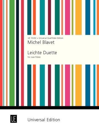 Michel Blavet - Leichte Duette - 2 Flöten - Partition - di-arezzo.fr