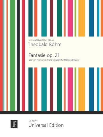 Theobald Boehm - Fantasy op. 21 - Partition - di-arezzo.co.uk