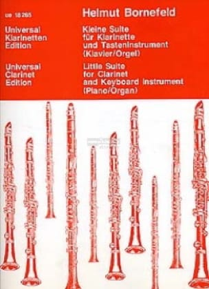 Kleine Suite - Klarinette Tasteninstrument - laflutedepan.com