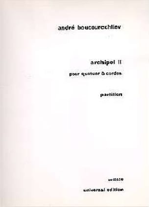 Archipel 2 - André Boucourechliev - Partition - laflutedepan.com