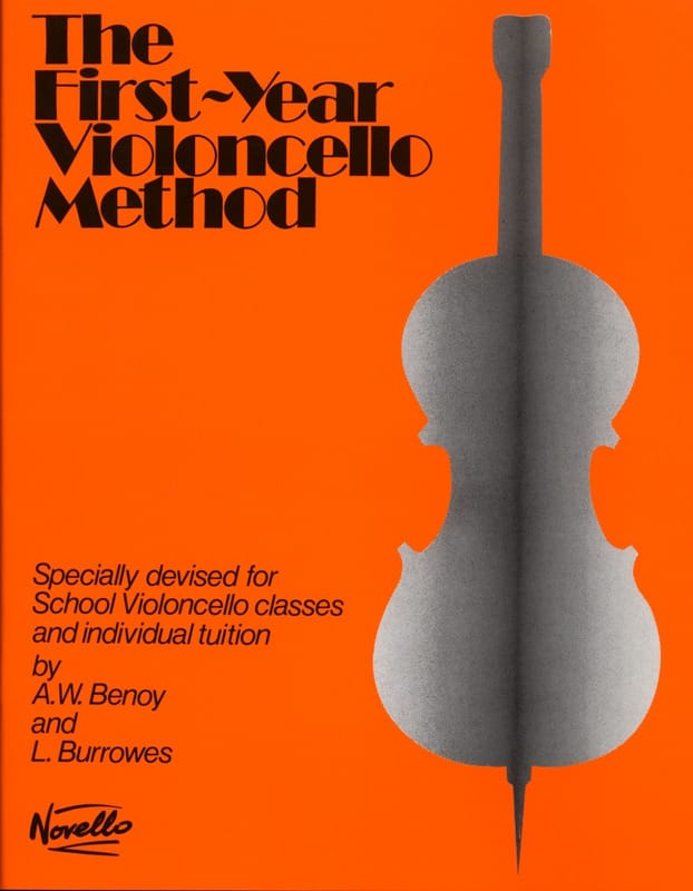 Benoy A. W. / Burrowes L. - First-year Violoncello method - Partition - di-arezzo.co.uk
