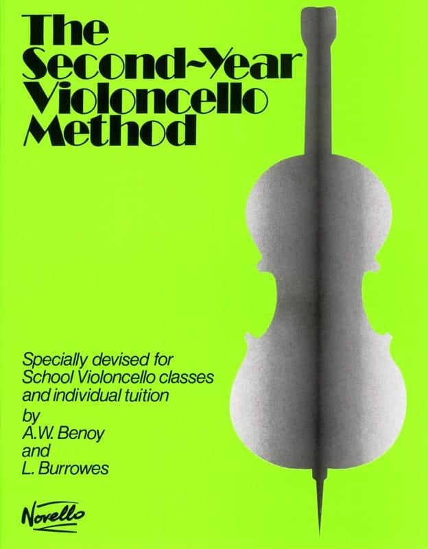 2nd Year Violoncello method - Benoy - Burrowes - laflutedepan.com
