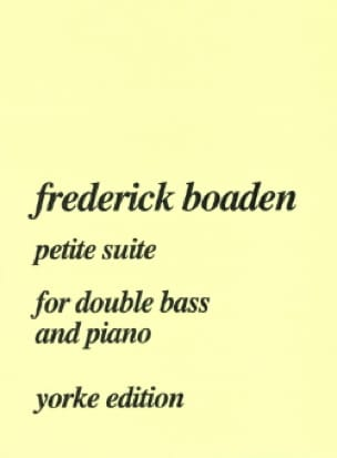 Petite Suite - Frederick Boaden - Partition - laflutedepan.com