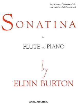 Sonatina - Flûte et piano - Eldin Burton - laflutedepan.com