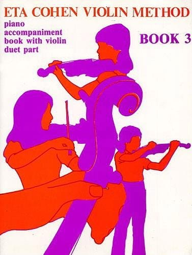 Eta Cohen - Violin Method, Volume 3 - Piano accomp. - Partition - di-arezzo.com