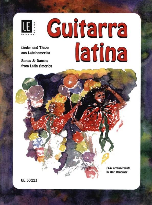 Guitarra latina - Karl Bruckner - Partition - laflutedepan.com