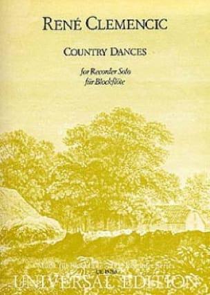 Country Dances - Recorder solo - René Clemencic - laflutedepan.com