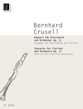Bernhard Henrik Crusell - Konzert für Klarinette op. 11 - Klarinette Klavier - Partition - di-arezzo.es
