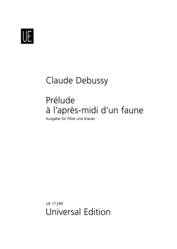 DEBUSSY - Afternoon Prelude to a Fauna - Piano Flute - Partition - di-arezzo.co.uk
