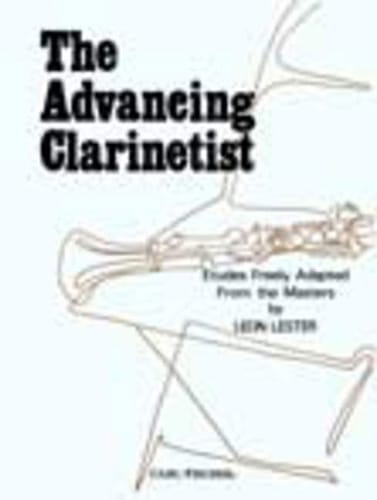 The Advancing Clarinetist - Partition - laflutedepan.com