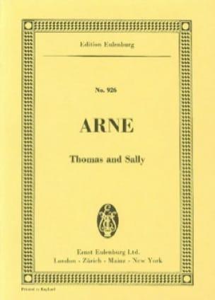 Thomas and Sally - Thomas Augustine Arne - laflutedepan.com