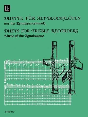 - Duette para Alt-blockflöten - Renaissancemusik - Partition - di-arezzo.es