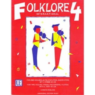 Folklore international Volume 4 - Christa Roelcke - laflutedepan.com