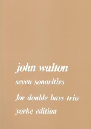 7 Sonorities - J. Walton - Partition - Contrebasse - laflutedepan.com