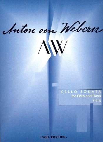 Sonate 1914 - WEBERN - Partition - Violoncelle - laflutedepan.com