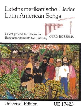 Lateinamerikanische Lieder - Partition - laflutedepan.com