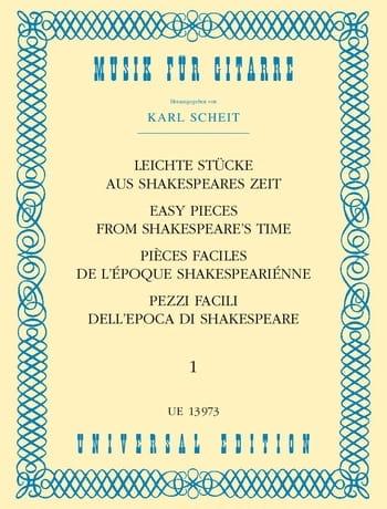 Leichte Stücke aus Shakespeares Zeit - Bd. 1 - laflutedepan.com