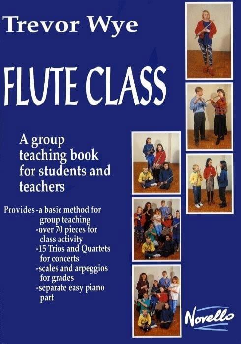 Flute Class - Trevor Wye - Partition - laflutedepan.com
