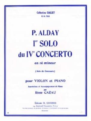 1er Solo du Concerto pour violon n° 4 - Paul Alday - laflutedepan.com