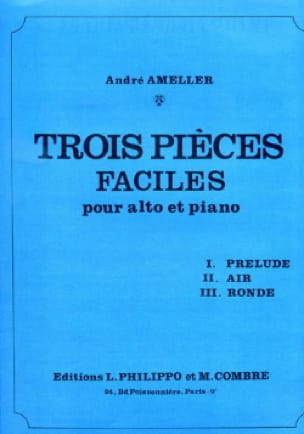 André Ameller - 3 easy parts - Partition - di-arezzo.co.uk