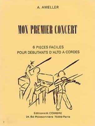 Mon premier concert - André Ameller - Partition - laflutedepan.com