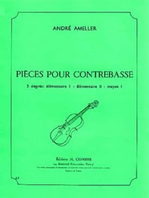 André Ameller - Pieces for double bass 6 pieces - Partition - di-arezzo.co.uk