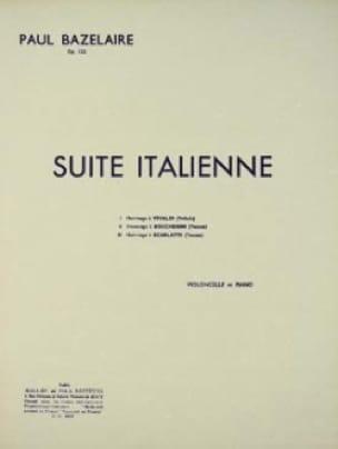Paul Bazelaire - Italian Suite op. 122 - Partition - di-arezzo.co.uk