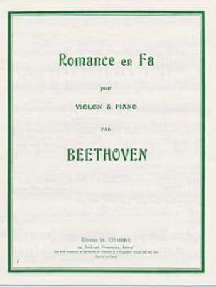 Romance en Fa - BEETHOVEN - Partition - Violon - laflutedepan.com
