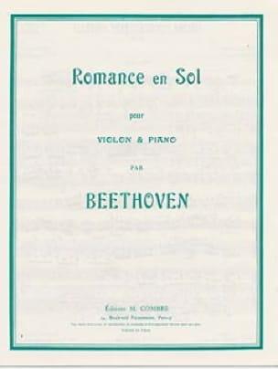 Romance en Sol - BEETHOVEN - Partition - Violon - laflutedepan.com
