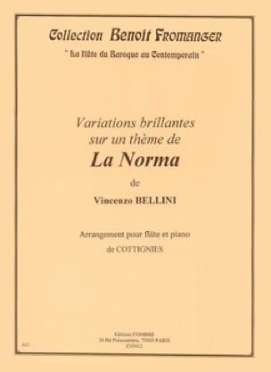 Variations brillantes sur la Norma - Flûte et Piano - laflutedepan.com