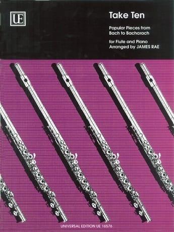 Take Ten - Flute piano - James Rae - Partition - laflutedepan.com