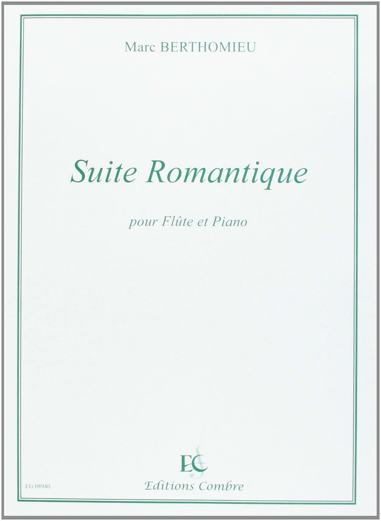 Marc Berthomieu - Suite romantique - Partition - di-arezzo.fr