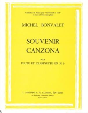 Souvenir - Canzone - Flute & Clarinette Sib -Deg.2 - laflutedepan.com