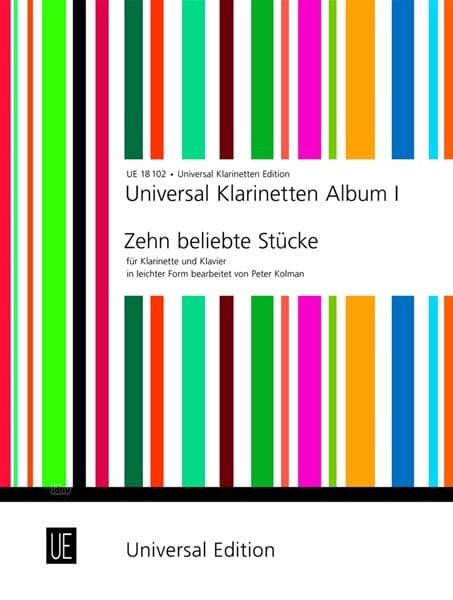 Universal Klarinetten Album 1 - Peter Kolman - laflutedepan.com