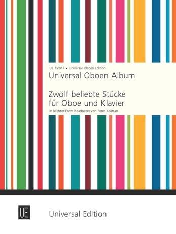 Universal Oboen Album - Peter Kolman - Partition - laflutedepan.com