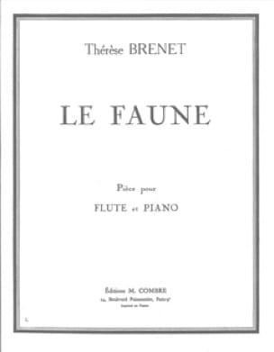 Le faune - Thérèse Brenet - Partition - laflutedepan.com