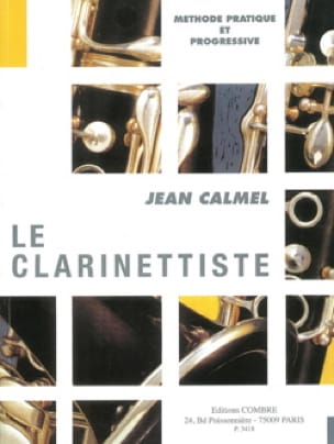 Jean Calmel - The Clarinetist - Partition - di-arezzo.co.uk
