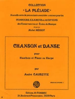 Chanson et Danse - André Caurette - Partition - laflutedepan.com