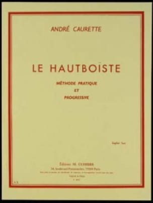 Le Hautboïste - André Caurette - Partition - laflutedepan.com