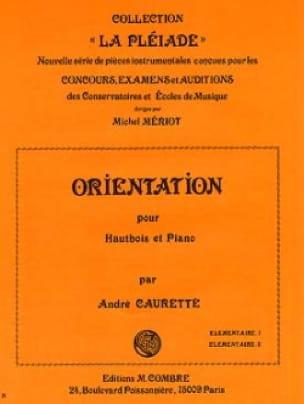 Orientation - André Caurette - Partition - Hautbois - laflutedepan.com