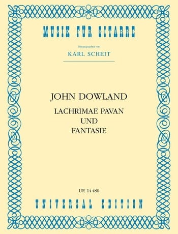 John Dowland - Lachrimae Pavan and Fantasy - Partition - di-arezzo.com