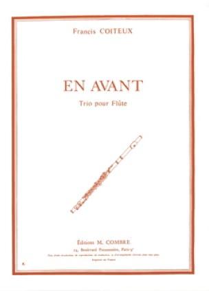 En avant - Francis Coiteux - Partition - laflutedepan.com