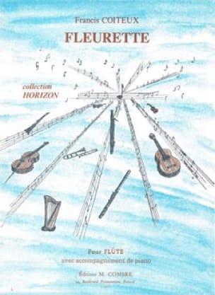 Fleurette - Francis Coiteux - Partition - laflutedepan.com