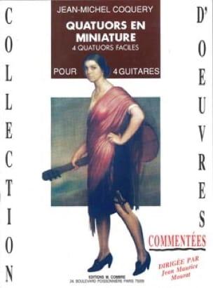 Quatuors En Miniature - 4 Quatuors Faciles Guitare - laflutedepan.com