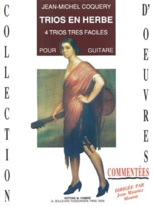 Trios en Herbe - Jean-Michel Coquery - Partition - laflutedepan.com