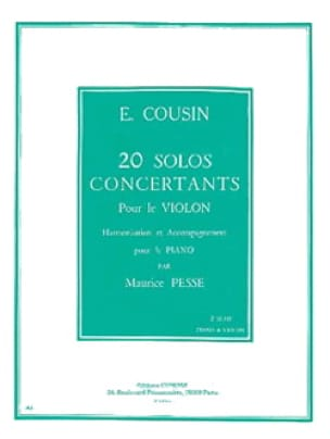 20 Solos concertants, Série 2 11 à 20 - laflutedepan.com