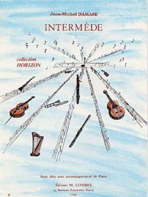 Intermède - Jean-Michel Damase - Partition - Alto - laflutedepan.com