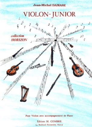 Violon - Junior - Jean-Michel Damase - Partition - laflutedepan.com